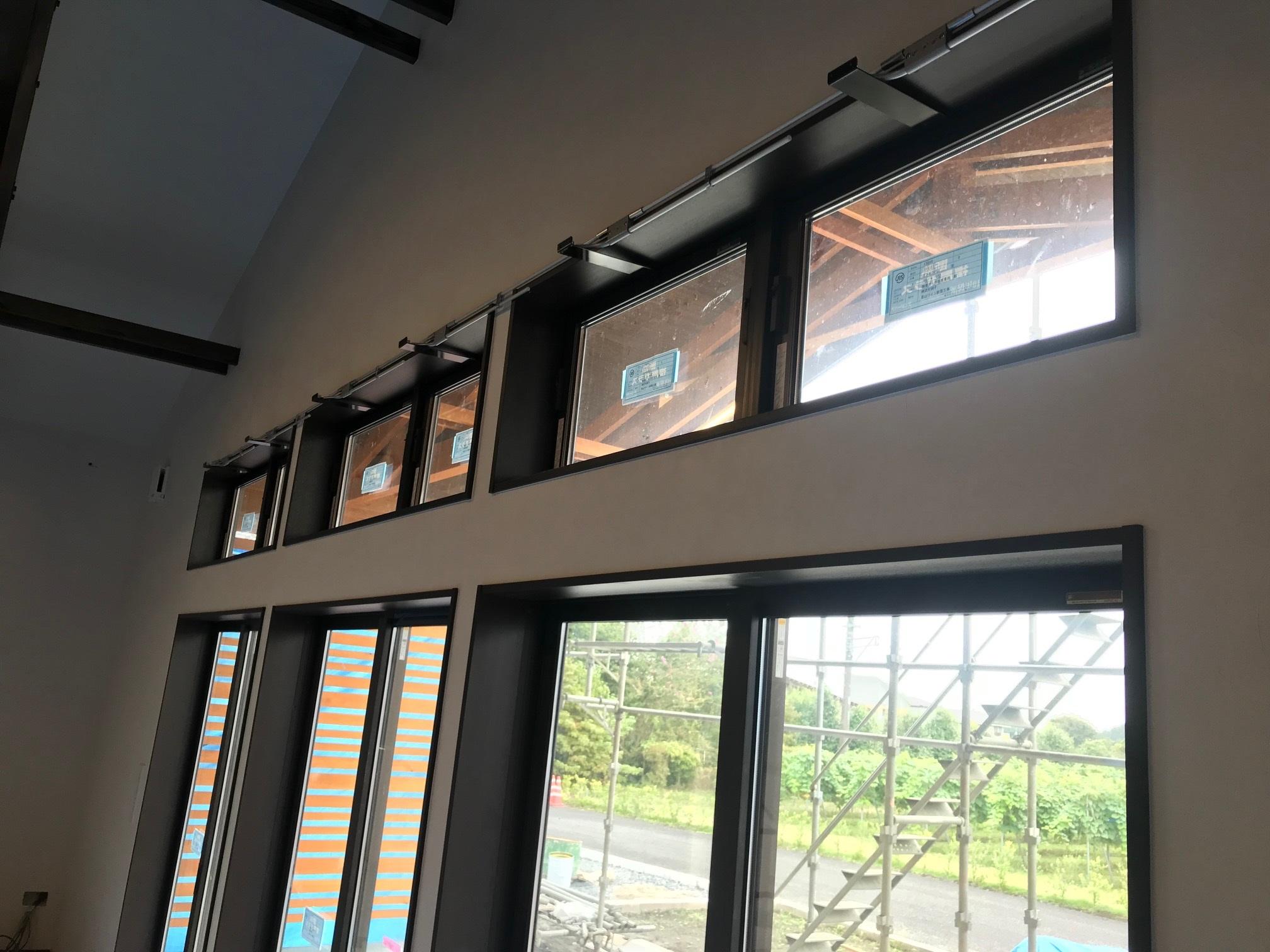 新築物件の排煙オペレーター施工事例