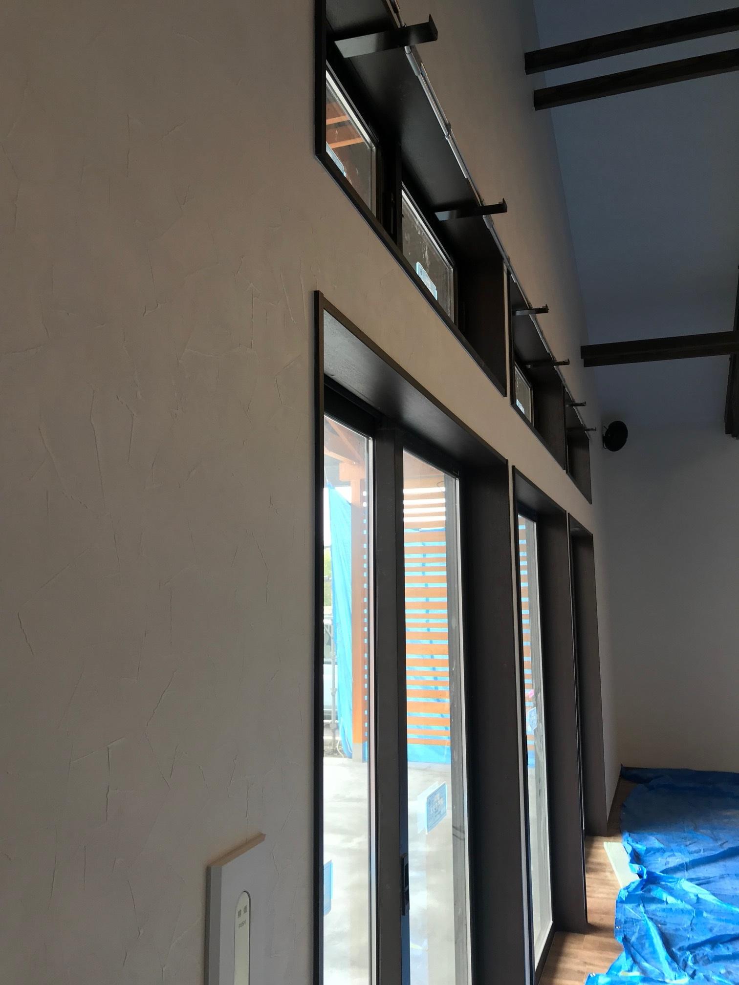 新築物件の排煙オペレーター施工事例2