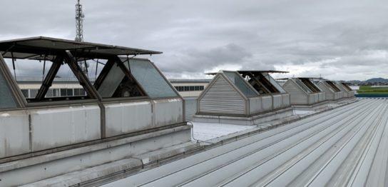 電動突き上げ窓修理工事3