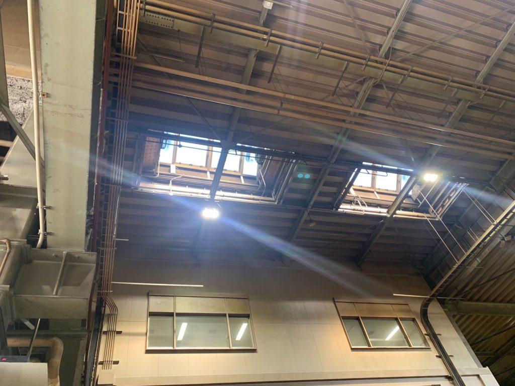 電動突き上げ窓修理工事6